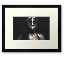 weary empress of the ancient cosmos Framed Print