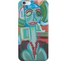 The Green Woman Cometh iPhone Case/Skin