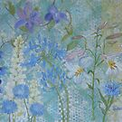 Cool Summer Garden by Susan Duffey