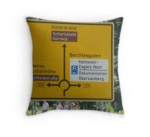 Kehlstein - Eagle's Nest Throw Pillow