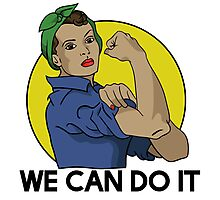 We can do it Photographic Print