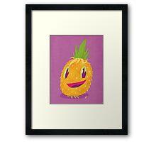 Mr. Pineapple Says Hello Framed Print