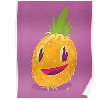 Mr. Pineapple Says Hello Poster