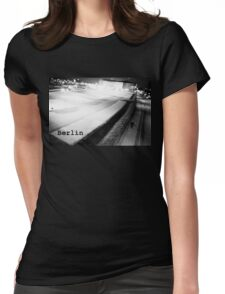 Berlin Streets 001 Womens Fitted T-Shirt