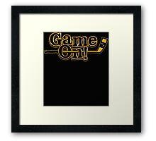 Game On! Framed Print