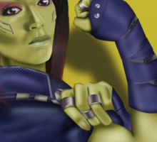 Gamora - We Can Do It Sticker