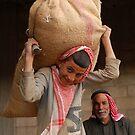 Posing under pressure, Syria by Peter Gostelow
