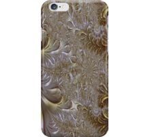 Gold and Silver Fantasy Lace Work iPhone Case/Skin