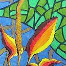 230 - FLORAL DESIGN - 02 - DAVE EDWARDS - COLOURED PENCILS - 2008 by BLYTHART