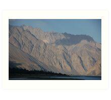Pamirs, Tajikistan Art Print