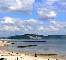 The Beach. Lyme Regis. UK by JPPhotography
