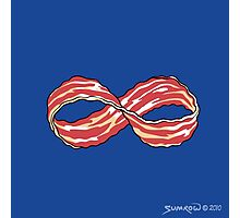 The Shirt of Infinite Bacon Photographic Print