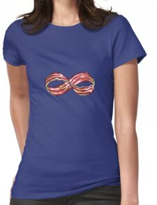The Shirt of Infinite Bacon Womens Fitted T-Shirt