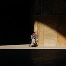 In the light, Iran by Peter Gostelow