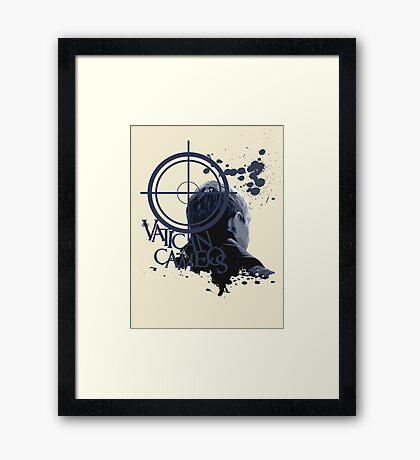 Vatican Cameos - BBC Sherlock [John Watson] Framed Print