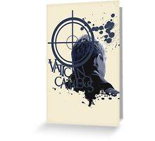 Vatican Cameos - BBC Sherlock [John Watson] Greeting Card