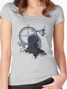 Vatican Cameos - BBC Sherlock [John Watson] Women's Fitted Scoop T-Shirt