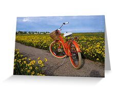 I Love My Bicycle Greeting Card