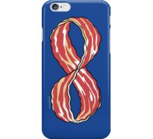 The Shirt of Infinite Bacon iPhone Case/Skin