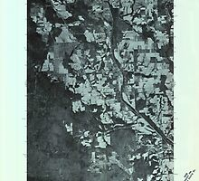Maine USGS Historical Map Mars Hill SW 806886 1975 24000 by wetdryvac