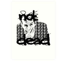 Not dead. - Sherlock BBC [Jim Moriarty] Art Print