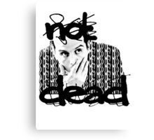 Not dead. - Sherlock BBC [Jim Moriarty] Canvas Print