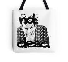 Not dead. - Sherlock BBC [Jim Moriarty] Tote Bag