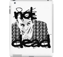 Not dead. - Sherlock BBC [Jim Moriarty] iPad Case/Skin
