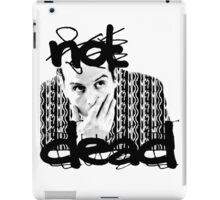 Not dead. - Sherlock BBC [Jim Moriarty] iPad Case/Skin