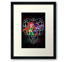 Ivy & Harley V2 - Gothamettes Framed Print