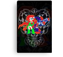 Ivy & Harley V2 - Gothamettes Canvas Print