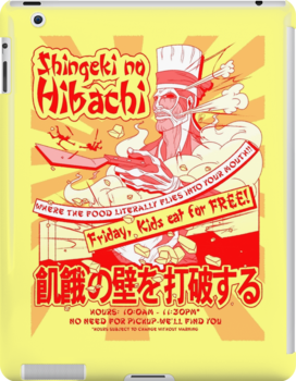 Shingeki no Hibachi (Attack on Hibachi) by Penelope Barbalios