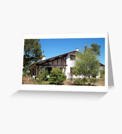 Landes house Greeting Card