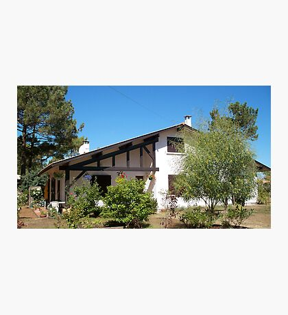 Landes house Photographic Print
