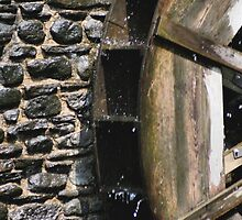Water Wheel Up Close by SmilinEyes