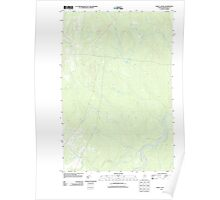 Maine USGS Historical Map Mary L Pond 20110919 TM Poster