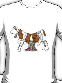 Cows Rainbow Piñata T-Shirt