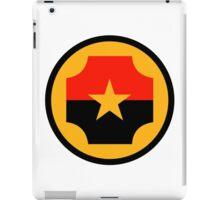 Roundel of the Nicaraguan Air Force iPad Case/Skin