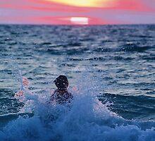 Body Surfing by Debbie Stobbart