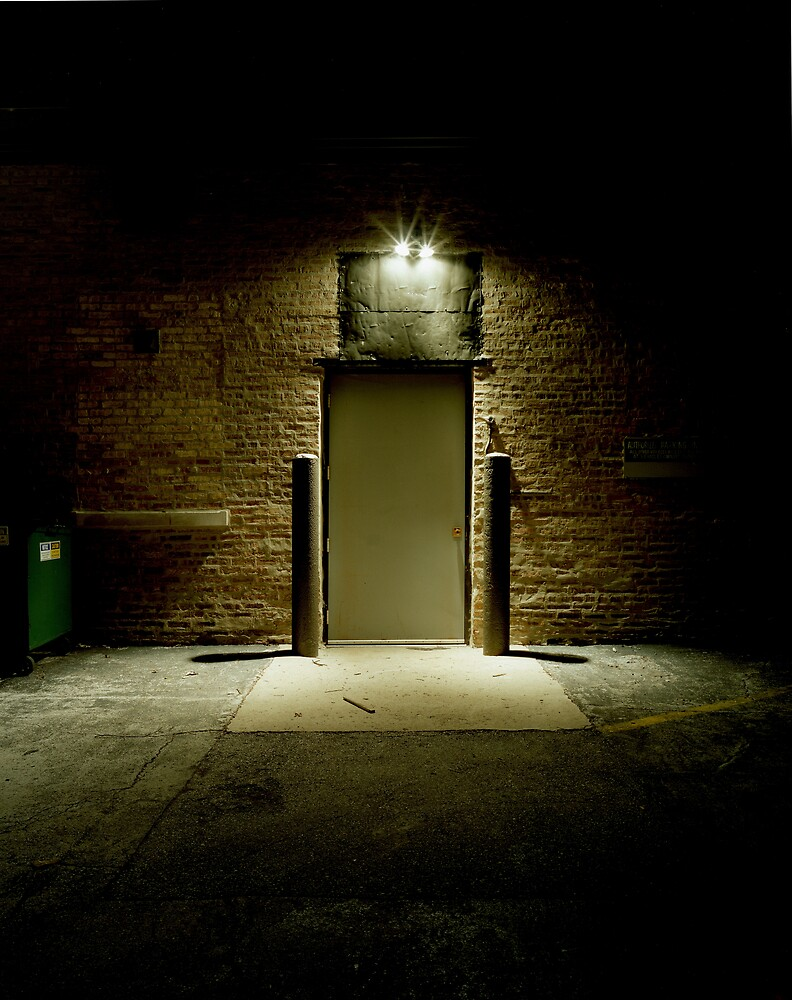 Dark Alley Door by Marc Sullivan