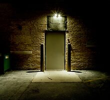 Dark Alley Door by Marc Sullivan