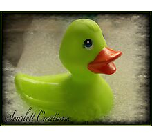 Rubber Duckie Photographic Print