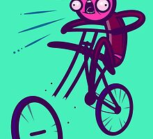 Cycling Disaster by artdyslexia