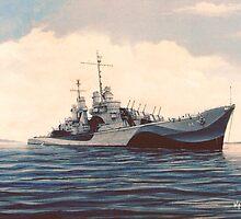USS San Juan - Cruiser by cgret82