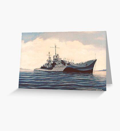 USS San Juan - Cruiser Greeting Card