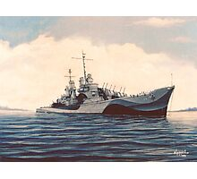 USS San Juan - Cruiser Photographic Print