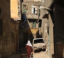 Cairo backstreets by Peter Gostelow