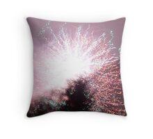 Firework Night Throw Pillow