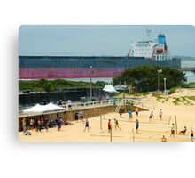 Newcastle Harbour NSW Canvas Print