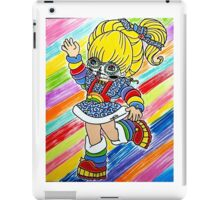 Sugar Skull Rainbow Brite iPad Case/Skin